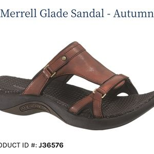 MERRELL💟Glade Autumn Genuine Leather Sandals
